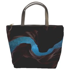 Abstract Adult Art Blur Color Bucket Bags
