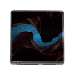 Abstract Adult Art Blur Color Memory Card Reader (square)