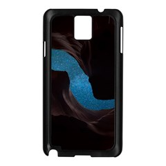Abstract Adult Art Blur Color Samsung Galaxy Note 3 N9005 Case (black)