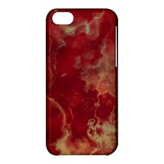 Marble Red Yellow Background Apple Iphone 5c Hardshell Case