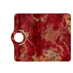 Marble Red Yellow Background Kindle Fire Hdx 8 9  Flip 360 Case