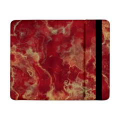 Marble Red Yellow Background Samsung Galaxy Tab Pro 8 4  Flip Case
