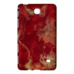 Marble Red Yellow Background Samsung Galaxy Tab 4 (7 ) Hardshell Case