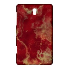 Marble Red Yellow Background Samsung Galaxy Tab S (8 4 ) Hardshell Case