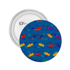 Fish Blue Background Pattern Texture 2 25  Buttons