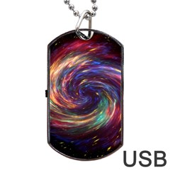 Cassiopeia Supernova Cassiopeia Dog Tag Usb Flash (two Sides)