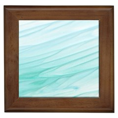 Texture Seawall Ink Wall Painting Framed Tiles