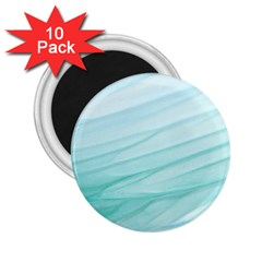 Texture Seawall Ink Wall Painting 2 25  Magnets (10 Pack)