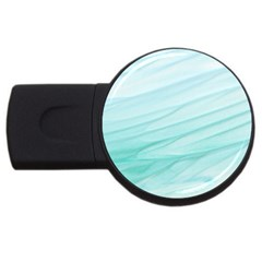Texture Seawall Ink Wall Painting Usb Flash Drive Round (2 Gb)
