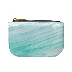 Texture Seawall Ink Wall Painting Mini Coin Purses