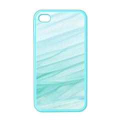 Texture Seawall Ink Wall Painting Apple Iphone 4 Case (color)