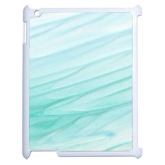 Texture Seawall Ink Wall Painting Apple Ipad 2 Case (white)