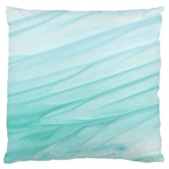 Texture Seawall Ink Wall Painting Large Cushion Case (one Side)