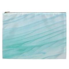 Texture Seawall Ink Wall Painting Cosmetic Bag (xxl)