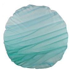 Texture Seawall Ink Wall Painting Large 18  Premium Round Cushions