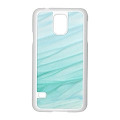 Texture Seawall Ink Wall Painting Samsung Galaxy S5 Case (white)