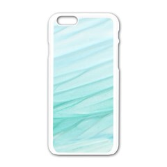 Texture Seawall Ink Wall Painting Apple Iphone 6/6s White Enamel Case