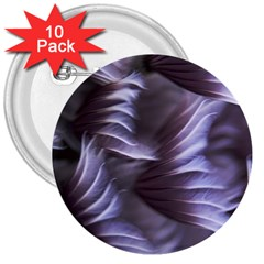 Sea Worm Under Water Abstract 3  Buttons (10 Pack)