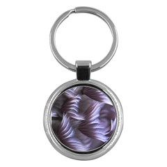 Sea Worm Under Water Abstract Key Chains (round)