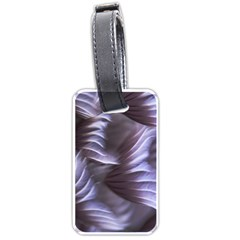 Sea Worm Under Water Abstract Luggage Tags (two Sides)