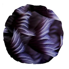Sea Worm Under Water Abstract Large 18  Premium Round Cushions