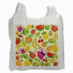 Seamless Pattern Desktop Decoration Recycle Bag (one Side)