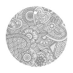 Ornament Vector Retro Ornament (round)