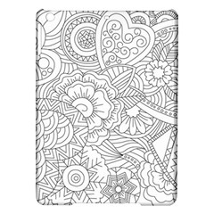 Ornament Vector Retro Ipad Air Hardshell Cases