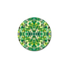 Forest Abstract Geometry Background Golf Ball Marker (10 Pack)