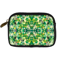 Forest Abstract Geometry Background Digital Camera Cases