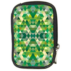 Forest Abstract Geometry Background Compact Camera Cases