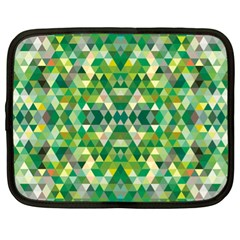 Forest Abstract Geometry Background Netbook Case (xl)