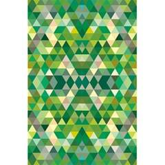 Forest Abstract Geometry Background 5 5  X 8 5  Notebooks
