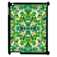 Forest Abstract Geometry Background Apple Ipad 2 Case (black)