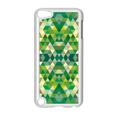 Forest Abstract Geometry Background Apple Ipod Touch 5 Case (white)