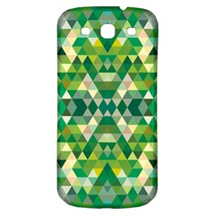 Forest Abstract Geometry Background Samsung Galaxy S3 S Iii Classic Hardshell Back Case