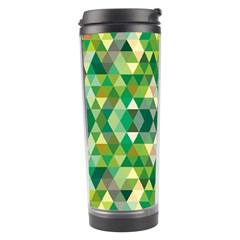 Forest Abstract Geometry Background Travel Tumbler