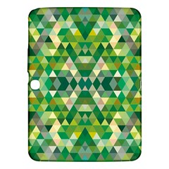 Forest Abstract Geometry Background Samsung Galaxy Tab 3 (10 1 ) P5200 Hardshell Case