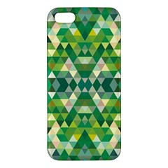 Forest Abstract Geometry Background Iphone 5s/ Se Premium Hardshell Case