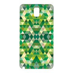 Forest Abstract Geometry Background Samsung Galaxy Note 3 N9005 Hardshell Back Case