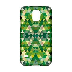 Forest Abstract Geometry Background Samsung Galaxy S5 Hardshell Case