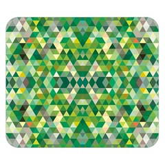 Forest Abstract Geometry Background Double Sided Flano Blanket (small)