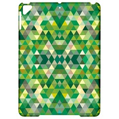 Forest Abstract Geometry Background Apple Ipad Pro 9 7   Hardshell Case