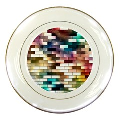 Background Wall Art Abstract Porcelain Plates