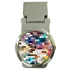 Background Wall Art Abstract Money Clip Watches