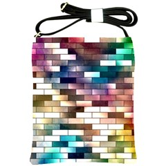 Background Wall Art Abstract Shoulder Sling Bags