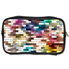 Background Wall Art Abstract Toiletries Bags 2 Side
