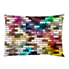 Background Wall Art Abstract Pillow Case (two Sides)