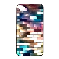 Background Wall Art Abstract Apple Iphone 4/4s Seamless Case (black)