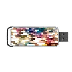 Background Wall Art Abstract Portable Usb Flash (one Side)
